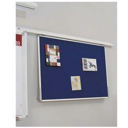 Tablica tekstylna do systemu szynowego, 900x600 mm