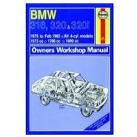 Biblioteka motoryzacji, BMW 316, 320 and 320i (4-cyl) (75 - Feb 83) up to Y Classic Reprint
