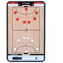 Pure2Improve Dwustronna tablica trenerska do piłki ręcznej, 35x22 cm