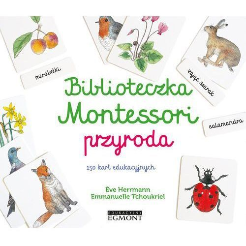 Literatura młodzieżowa, Biblioteczka Montessori Przyroda (opr. twarda)