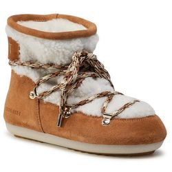 Śniegowce MOON BOOT - Dk Side Low Shearling 24300500001 Whisky/Off White