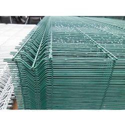 Panel ogrodzeniowy zielony Fi4 1230x2500 mm