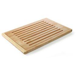Deska do krojenia, drewniana z wyjmowaną kratką 475x322 mm   HENDI, 505502