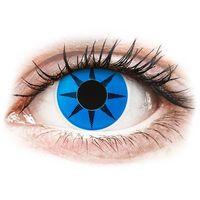 Soczewki kontaktowe, Soczewki kolorowe niebieskie BLUE STAR Crazy Lens 2 szt.