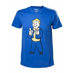 T-shirt męski Fallout 4 Vault Boy Shooting Fingers, L - BEZPŁATNY ODBIÓR: WROCŁAW!