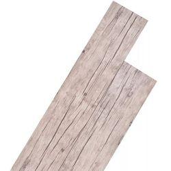 vidaXL Samoprzylepne panele podłogowe, 36 szt., PVC, jasnoszare Darmowa wysyłka i zwroty
