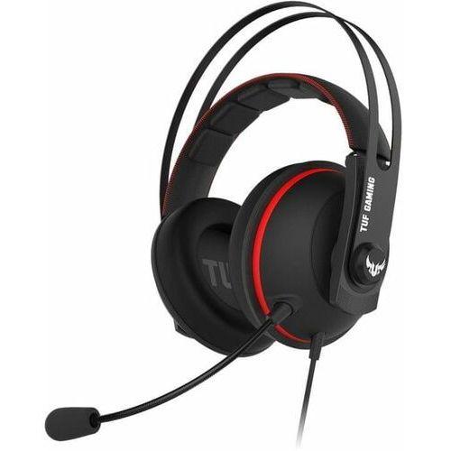 Pozostałe gry i konsole, Asus TUF Gaming H7 Core, czerwony (90YH01QR-B1UA00)