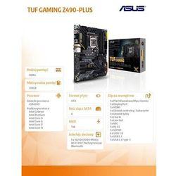 Płyta główna ASUS Tuf Gaming Z490-Plus DARMOWY TRANSPORT