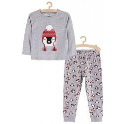 Pidżama dziewczęca w Pingwiny 3W3717 Oferta ważna tylko do 2023-08-03