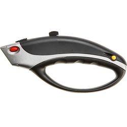Nóż z ostrzem trapezowym TOPEX 17B175 ochronna rękojeść