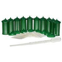 Środki na szkodniki, Dyspenser zapachu Hukinola 10 sztuk + pipeta GRATIS.