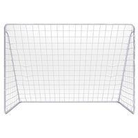 Piłka nożna, Bramka piłka nożna ogrodowa 3mx2m 300 biała
