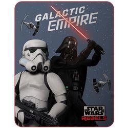 CTI Fleece kocyk Star wars dark side 110x140 cm - BEZPŁATNY ODBIÓR: WROCŁAW!