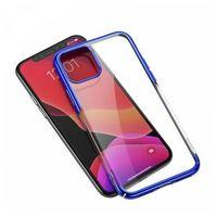 Etui i futerały do telefonów, Przezroczyste etui ochronne Baseus Glitter Case do iPhone 11 Pro Max 6,5 (niebieskie)