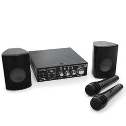 Zestaw PA LTC Star-2 kompaktowy USB-SD-MP3 2 x 50W 2 x mikrofon