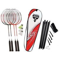 Badminton i speedminton, Zestaw do badmintona Talbot Torro 4-Fighter
