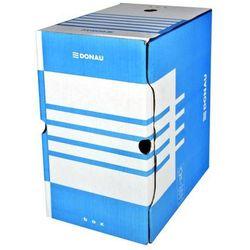 Pudło archiwizacyjne 1800 kartek FSC DONAU niebieskie kartonowe - X07615