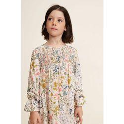 Mango Kids - Sukienka dziecięca Quebec 110-152 cm
