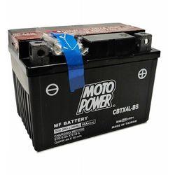 Akumulator motocyklowy Moto Power CBTX4L-BS YTX4L-BS 12V 3Ah 40A EN P+