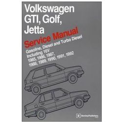Volkswagen GTI, Golf, Jetta Service Manual 1985-1992 Now in Hardcover