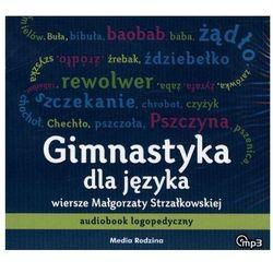 CD MP3 GIMNASTYKA DLA JĘZYKA AUDIOBOOK LOGOPEDYCZNY