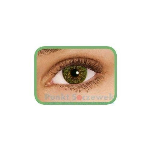 Soczewki kontaktowe, FreshLook Colors Green, 2 szt.