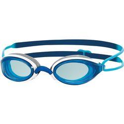 Zoggs FUSION AIR Okulary pływackie dark blue Przy złożeniu zamówienia do godziny 16 ( od Pon. do Pt., wszystkie metody płatności z wyjątkiem przelewu bankowego), wysyłka odbędzie się tego samego dnia.