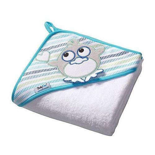 Okrycia kąpielowe, Ręcznik, okrycie kąpielowe frotte BabyOno Ptaszek 100x100cm