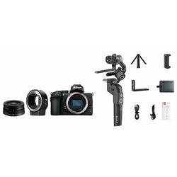 Nikon Z50 Lens + 16-50mm VR DX + FTZ + Gimbal do aparatu, kamery i smartphone Moza Mini-P - VOA050K004- Zamów do 16:00, wysyłka kurierem tego samego dnia!