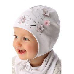 Czapka niemowlęca wiązana 5X34AC Oferta ważna tylko do 2019-06-26