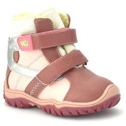 Dziecięce buty zimowe Wojtyłko 20048 - Różowy ||Pudrowy róż