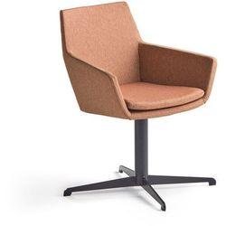 Krzesło konferencyjne FAIRVIEW, czarny, miedziany