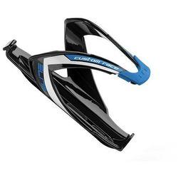 EL00616111 Koszyk na bidon ELITE CUSTOM RACE czarny z niebieskim logo