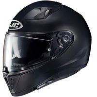 Kaski motocyklowe, HJC i70 KASK INTEGRALNY SEMI FLAT BLACK z pinlockiem