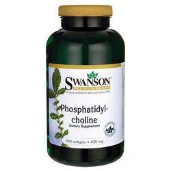 Swanson Fosfatydylocholina 420mg 200 kaps.