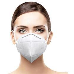 Zestaw 35x wielorazowa 4 warstwowa maska ochronna na twarz filtr lasy FPP2 KN95 biały