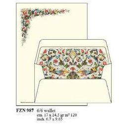 Papeteria Wallet 6 kopert i 6 papierów listowych FZN 987. Darmowy odbiór w niemal 100 księgarniach!