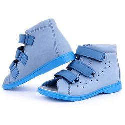 Buty korekcyjne Dawid - model 1041 / 1042 kolor niebieski