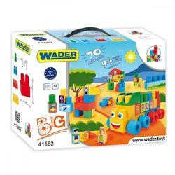 Wader Klocki blocks zestaw big 41582