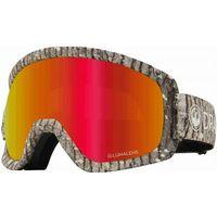 Kaski i gogle, gogle snowboardowe DRAGON - Dr D3 Otg Bonus Blizzard Llredion+Llamber (016)