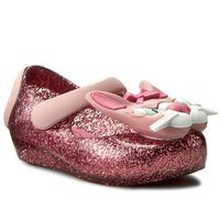 Półbuty i trzewiki dziecięce, Półbuty MELISSA - Mini Melissa Ultragirl VII BB 31985 Pink Glitter Glass 03889