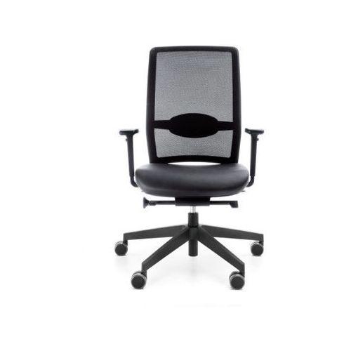Fotele i krzesła biurowe, Fotel Veris Net 101 SFL NX15 niebieski bez podłokietników
