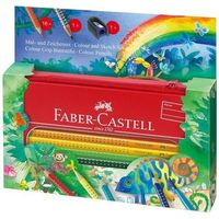 Kredki, Kredki FABER-CASTELL Grip 16 kolorów METAL 112452