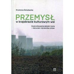 Przemysł w krajobrazie kulturowym wsi - Krystyna Dziubacka (red.) (opr. miękka)