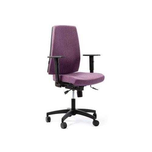 Fotele i krzesła biurowe, Fotel Quatro D7 antracyt