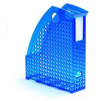 Kartony i pudła archiwizacyjne, Pojemnik na katalogi Durable Trend A4 przezroczysty niebieski 1701625540
