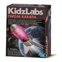 Rakiety i statki kosmiczne dla dzieci, RAKIETA KOSMICZNA Zrób to sam 4M 8+ do składania