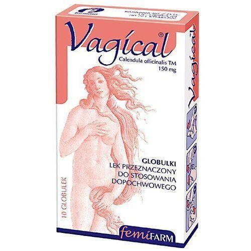 Leki na infekcje intymne, Vagical glob.dopochw. 1,5 g 10 szt.