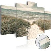 Obrazy, Obraz na szkle akrylowym - Cicha plaża [Glass]