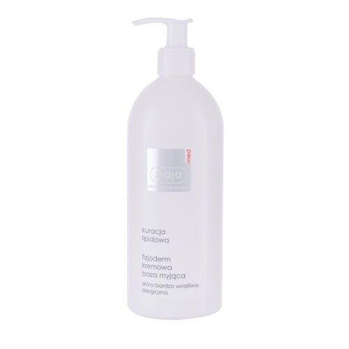 Inne kosmetyki do demakijażu, Ziaja Med Lipid Treatment Physioderm krem oczyszczający 400 ml dla kobiet